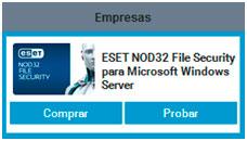 ESET Nod32 File Security para empresas - Soluciones Globales